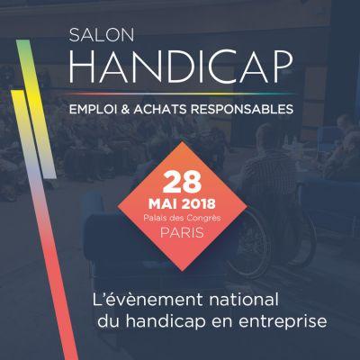 big sale e7ddf e0b0a Retrouvez-nous au Salon Handicap, Emploi   Achats Responsables !
