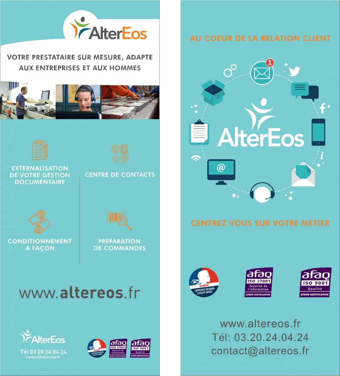 ESAT ALTEREOS (ESAT), 59200 Tourcoing (Nord)